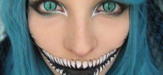 25 of the Creepiest Halloween Makeup Ideas