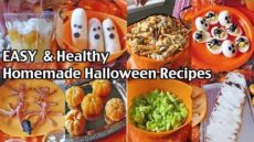 Easy And Healthy Homemade Halloween Food Ideas – Halloween Alternatives