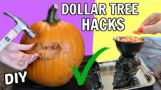 Halloween DIY Hacks From The Dollar Tree