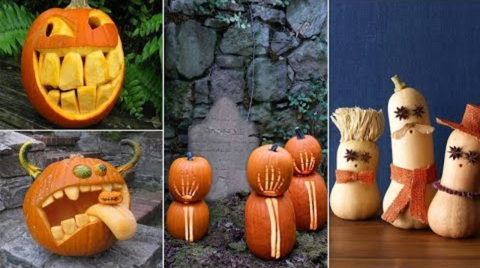 100 Best Pumpkin Carving Ideas for Halloween 2018